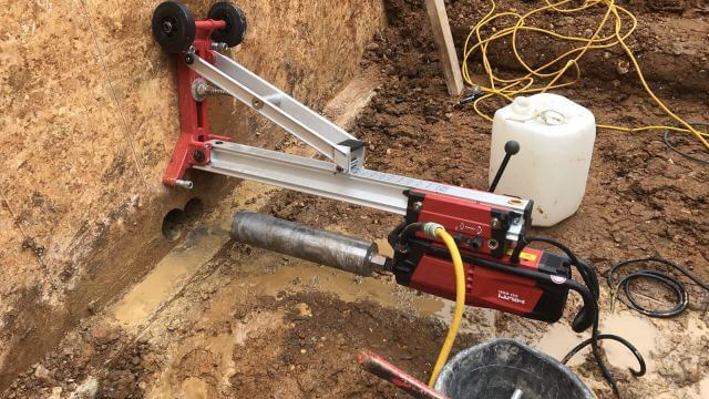DIAMOND CORE DRILLING
