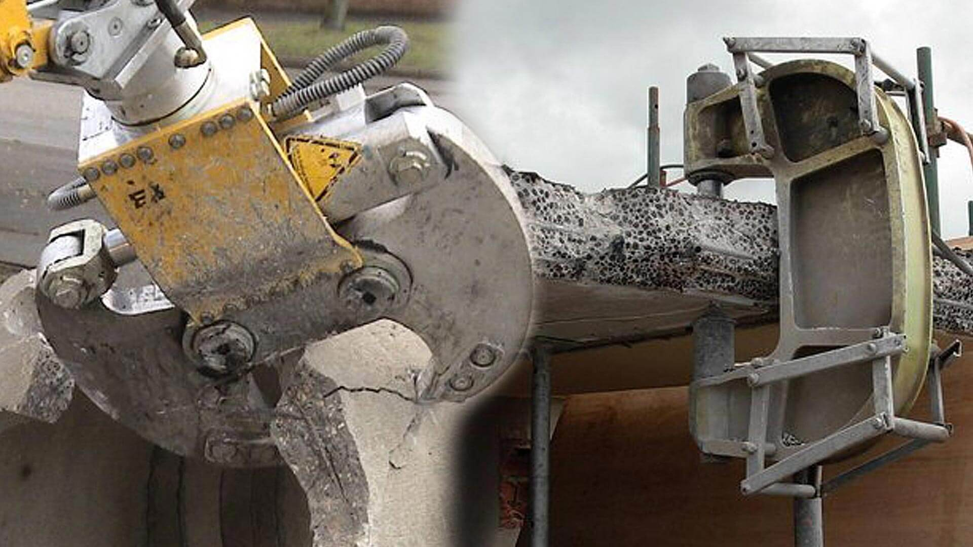 HYDRAULIC CONCRETE CRUNCHING SPECIALISTS