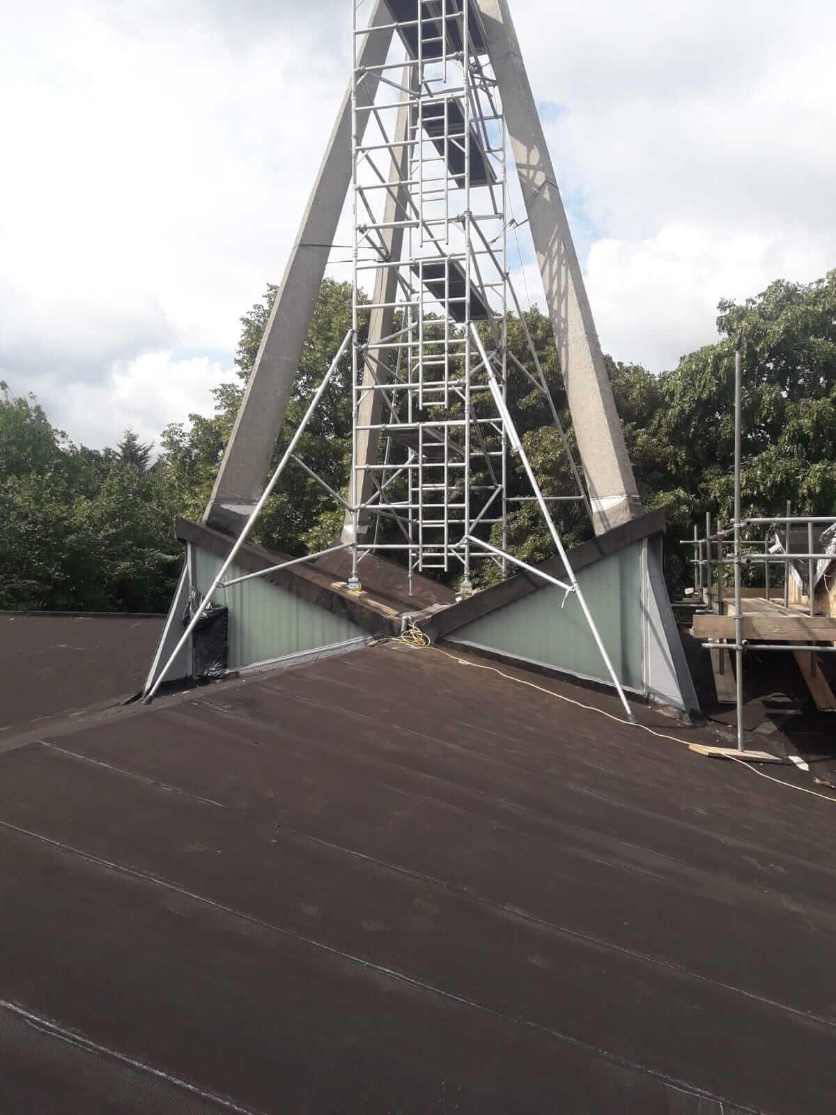 Concrete Repair London PASMA Tower Scaffold