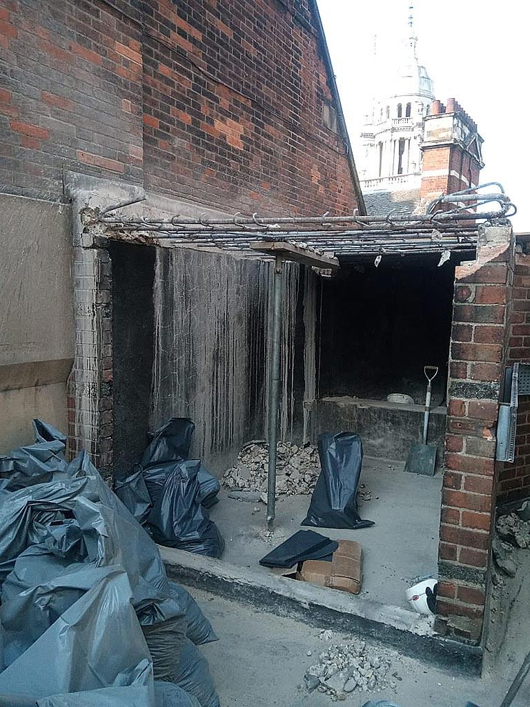 Trafalgar-Street-Concrete-removed